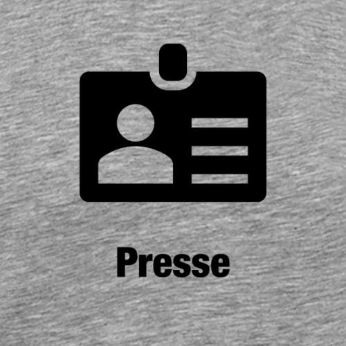 Presse - Männer Premium T-Shirt