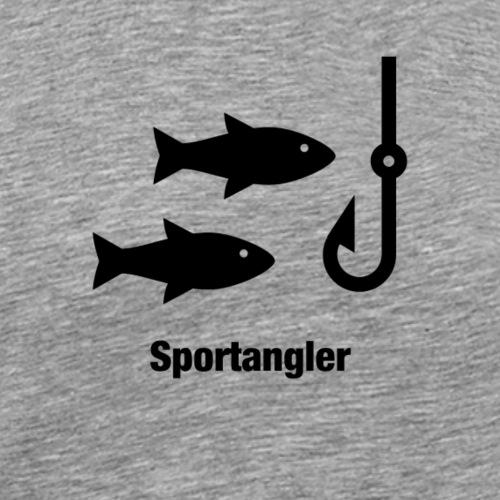 Sportangler - Männer Premium T-Shirt