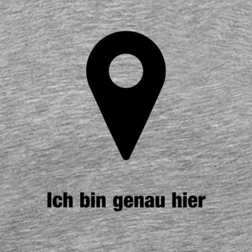 Navigation - Männer Premium T-Shirt