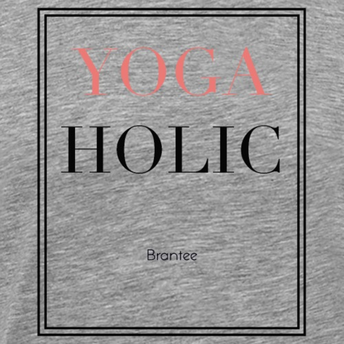 YOGA HOLIC - Men's Premium T-Shirt