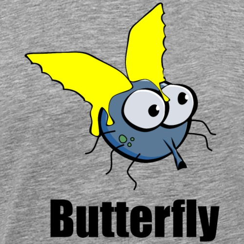 Butterfly - Schmetterlinge (Butterfliege) - fun4m3 - Männer Premium T-Shirt