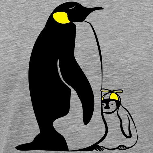 Pinguine Familie - Männer Premium T-Shirt