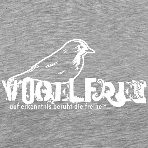 geweihbär Vogelfrei 2 - Männer Premium T-Shirt