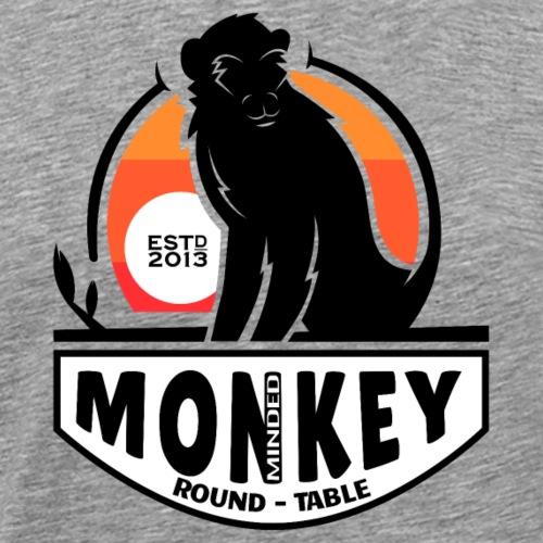 Monkey minded roundtable estd 2013 Affenstammtisch - Männer Premium T-Shirt