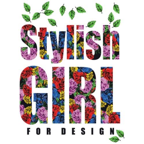 stylish girl for design - Men's Premium T-Shirt