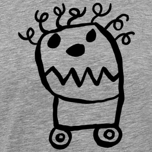 Monster auf Rollen - Männer Premium T-Shirt