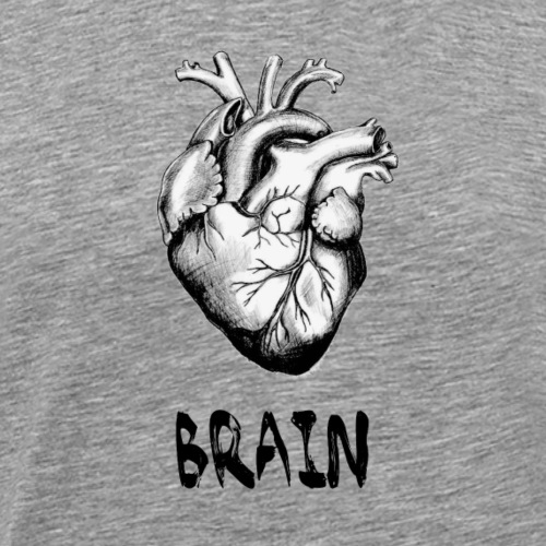 Brain - Men's Premium T-Shirt