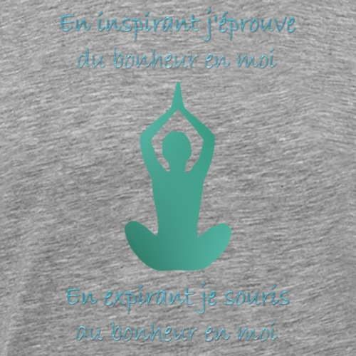 Citation yoga - T-shirt Premium Homme