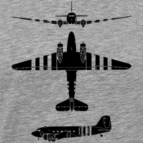 AVM WWII Skytrain C-47 Dakota Market-Garden Black