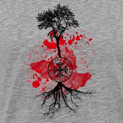 arbre rune - T-shirt Premium Homme