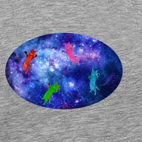 Space cats - Men's Premium T-Shirt