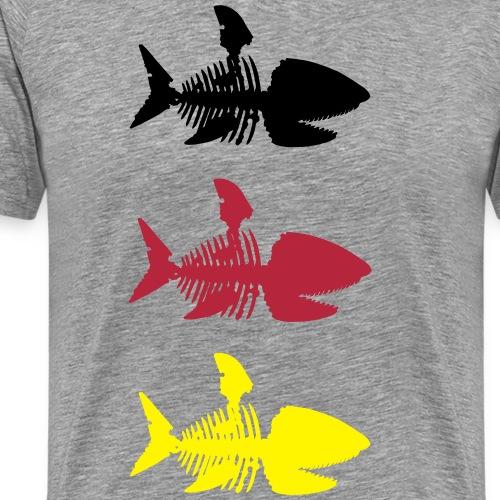 Sharkbone - Männer Premium T-Shirt
