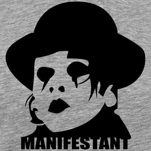 Manifestant (par Saturnain) - T-shirt Premium Homme