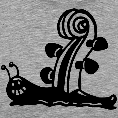 Geigenschnecke - Männer Premium T-Shirt