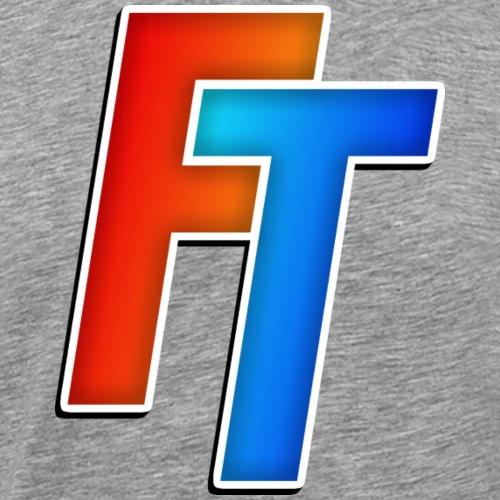 FiducTime Logo - Men's Premium T-Shirt