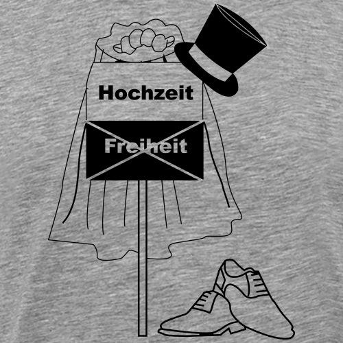 Hochzeit - Junggesellenverabschiedung - Männer Premium T-Shirt
