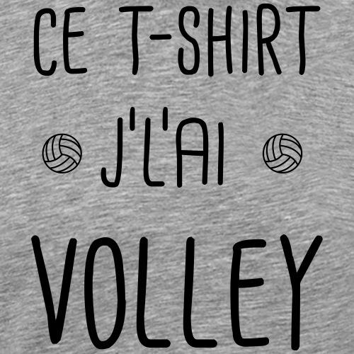 ce t-shirt jlai volley - T-shirt Premium Homme