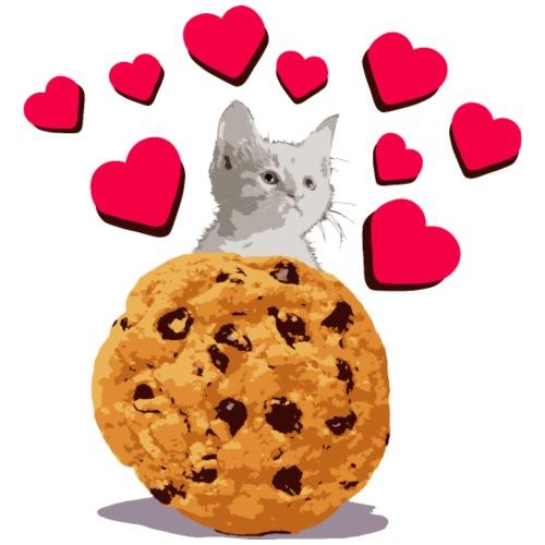 Cookies and cat3 - Men's Premium T-Shirt