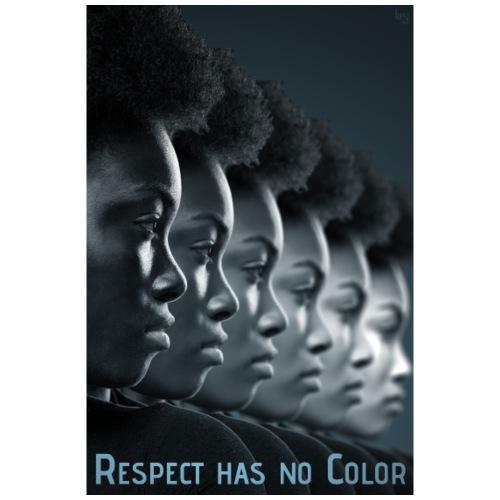 Respect has no Color 1 - Männer Premium T-Shirt