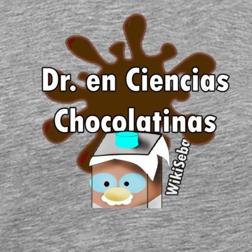 Doc. en Ciencias Chocolatinas - Camiseta premium hombre