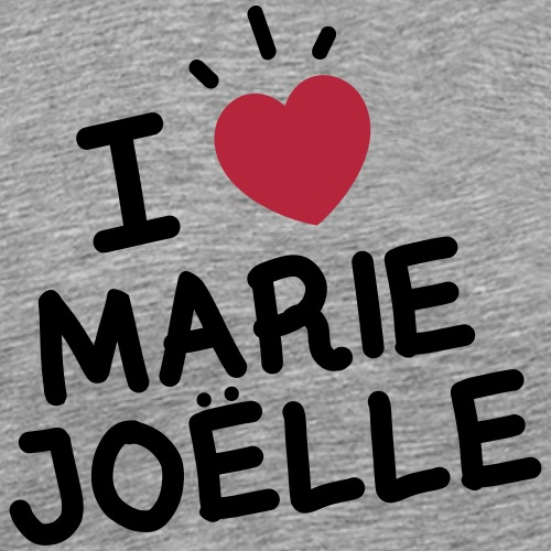 I Love Marie Joelle - T-shirt Premium Homme