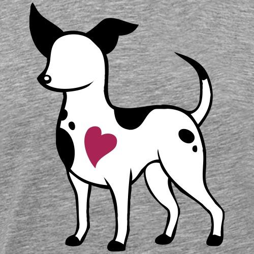 Rescue Dog Love - Miesten premium t-paita