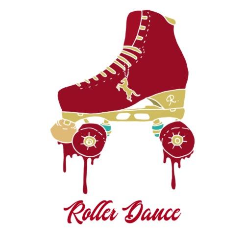 Roller Dance Red Skates - T-shirt Premium Homme