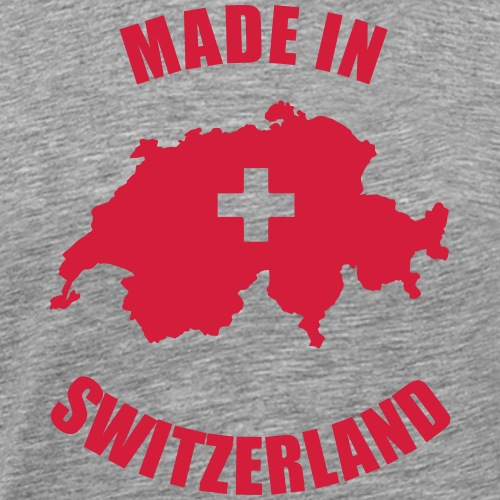 Made in Switzerland - Männer Premium T-Shirt