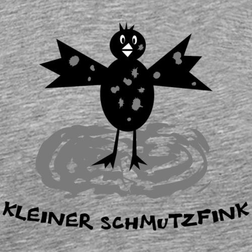 schmutzfink fink spatz dreckspatz kind baby - Männer Premium T-Shirt