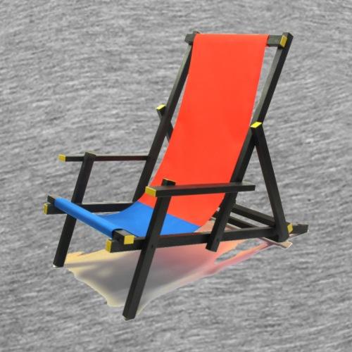 rietveld strandstoel - Mannen Premium T-shirt