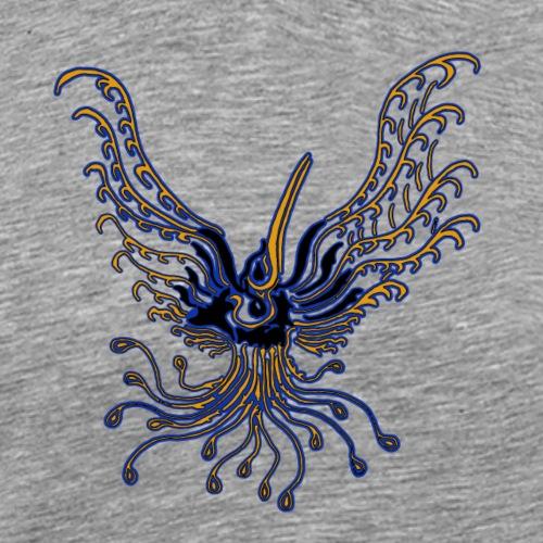 TribalBird phoenix EgyptBlue - T-shirt Premium Homme