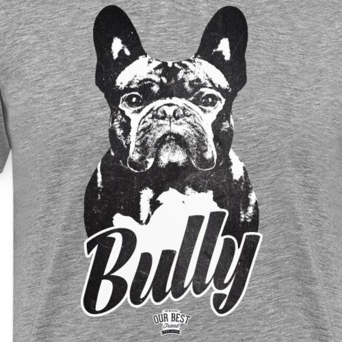Bully - Französische Bulldogge Silhouette - Männer Premium T-Shirt