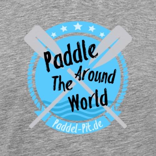 Paddle Around The World - Männer Premium T-Shirt