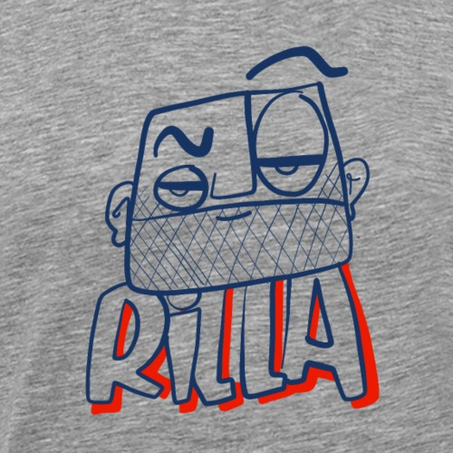Rilla bad 1 - Mannen Premium T-shirt