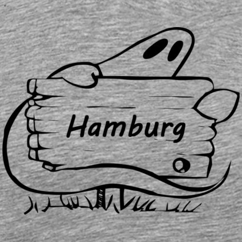 HH Ghost - Männer Premium T-Shirt