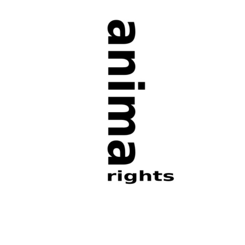 Animal Rights up Black - Men's Premium T-Shirt