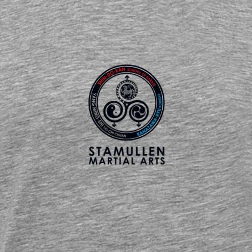Stamullen Martial Arts logo 2 - Men's Premium T-Shirt