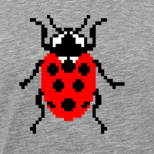 La Coccinelle en pixel art ! - Men's Premium T-Shirt
