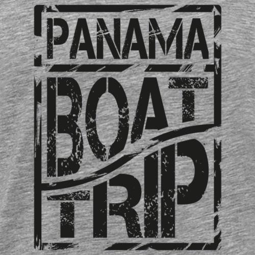 Panama Boat Trip *black - Männer Premium T-Shirt