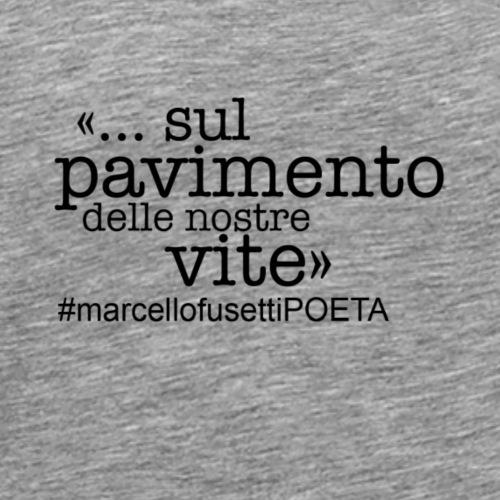 MarcellofusettiPOETA - Maglietta Premium da uomo