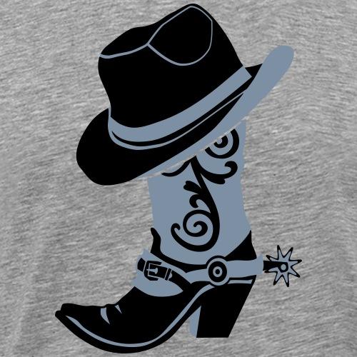 kl_linedance45 - Männer Premium T-Shirt