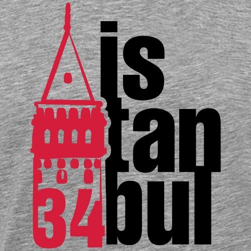 34 istanbul - Männer Premium T-Shirt