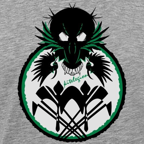 legionaire bird_vec_3 en - Men's Premium T-Shirt