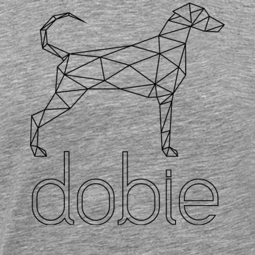 Geometric Doberman - Geometrischer Dobermann