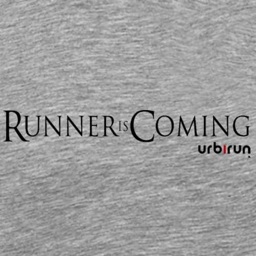 RunnerIsComingLogo - T-shirt Premium Homme