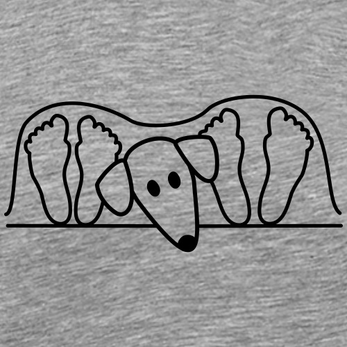 Sloughi - Männer Premium T-Shirt