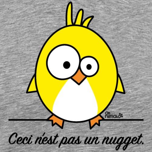 Poussin, Ceci n'est pas un Nugget - T-shirt Premium Homme