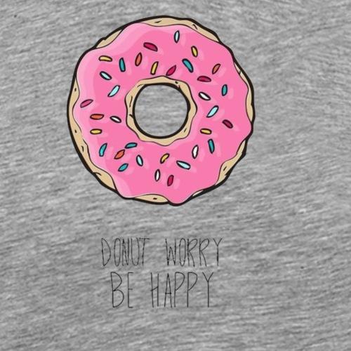 Donut happy - Männer Premium T-Shirt