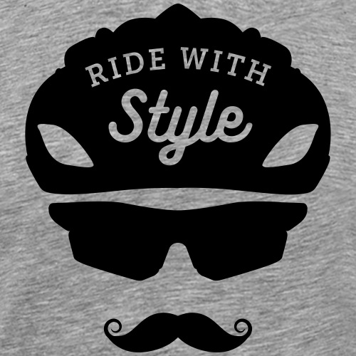 Ride with style - Men's Premium T-Shirt