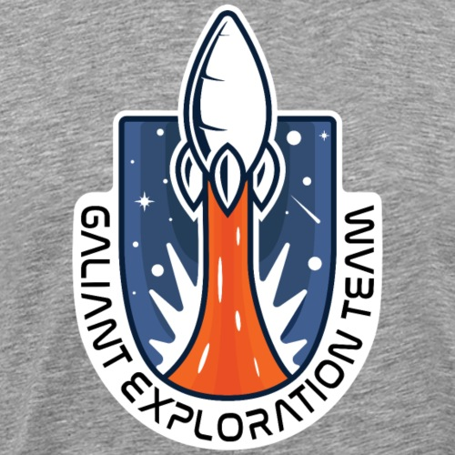 Exploration Badge - Men's Premium T-Shirt